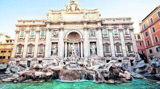 Fontana di Trevi, ahora protegida