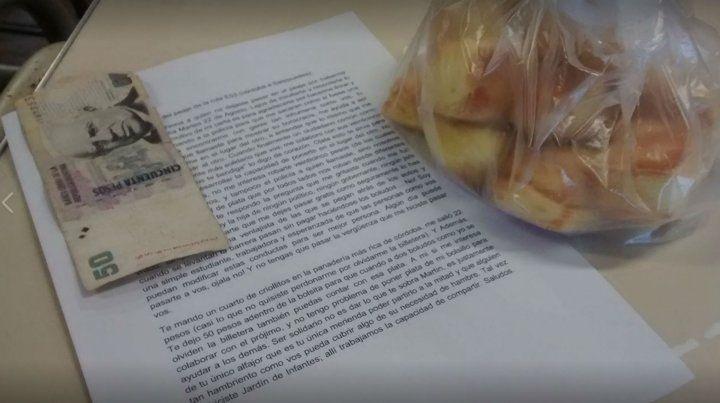 Humillada al no poder pagar un peaje, mandó bizcochos y una carta que se hizo viral