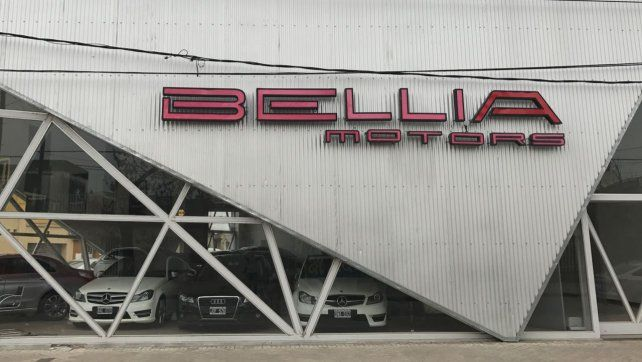 La concesionaria Bellia Motors está ubicada en Moteagudo 274 Bis.