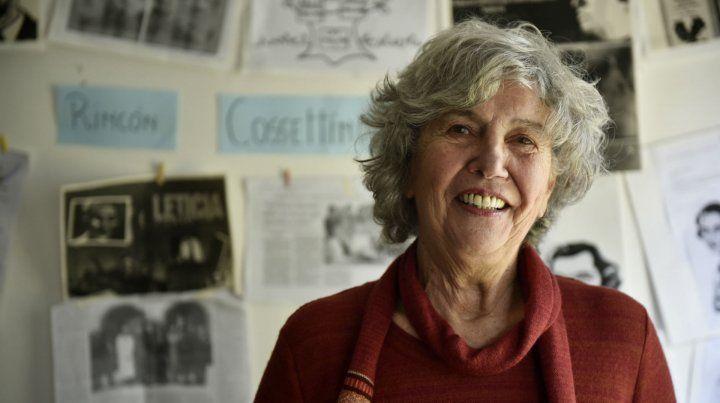 La docente que conoció a Mario Piazza en el colegio Integral de Fisherton.