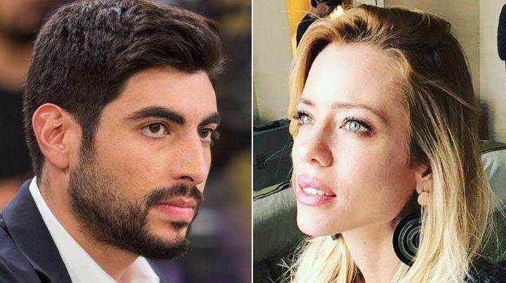 ¿Hay amor? Facundo Moyano fue visto a los besos con Nicole Neumann.