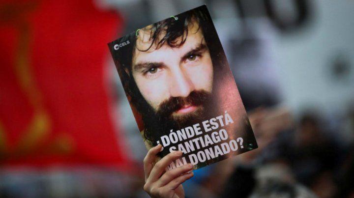 Santiago Maldonado desapareció en manos de Gendarmería el 1º de agosto.