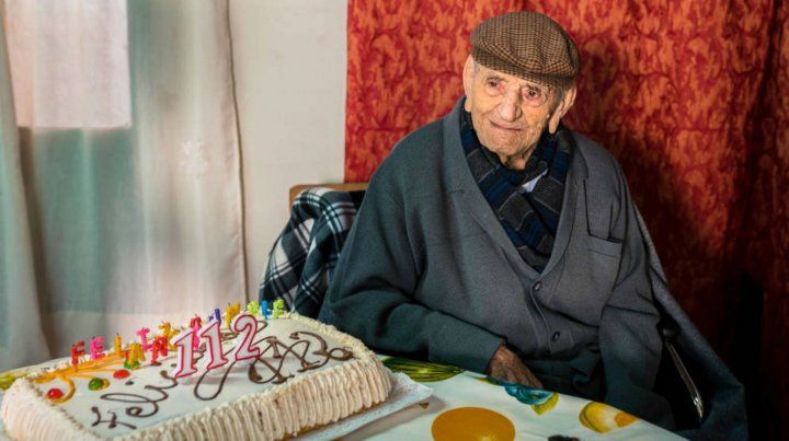 Un hombre sencillo. Don Francisco dentro de cuatro meses cumplirá 113.