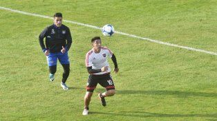 Falto de fútbol. Sarmiento estuvo pocos minutos en el primer amistoso ante Talleres