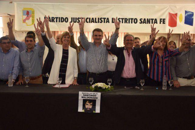 Repotenciados. Los máximos referentes del peronismo provincial buscan galvanizar al PJ.