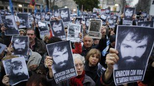La última manifestación que se hizo en Buenos Aires por la aparición de Maldonado.