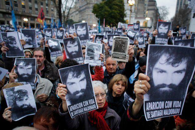 Santiago Maldonado desapareció en Chubut el 1º de agosto.