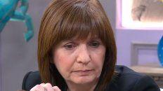¡Cuántas cosas te pasan a vos como ministra!, le dijo la conductora a Patricia Bullrich.