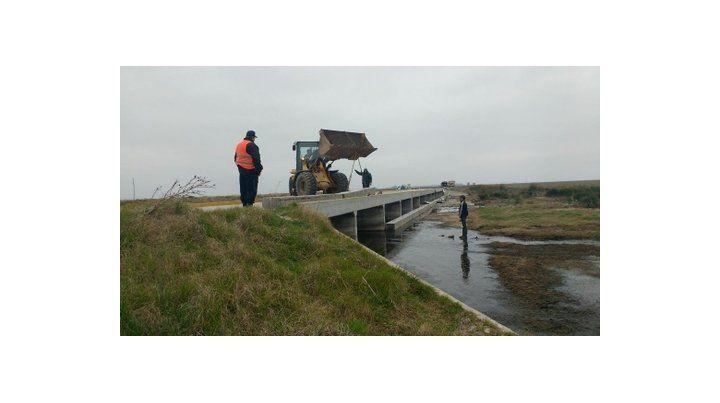trabajos listos. El Reservorio 6 controla aguas de La Picasa.