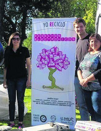 Campaña de reciclado en Venado.