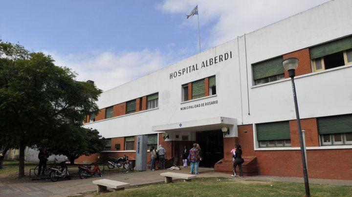 El hospital Alberdi.
