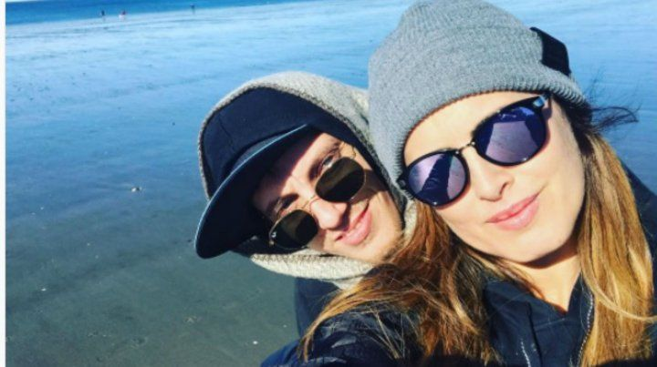 Tras la tormenta, el romance entre SIlvina Luna y El Polaco marcha sobre ruedas