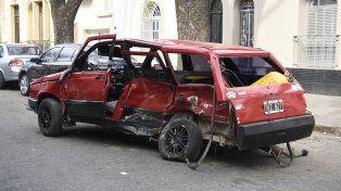 Uno de los autos que corrió la picada fatal estaba a nombre del Partido Demócrata Progresista