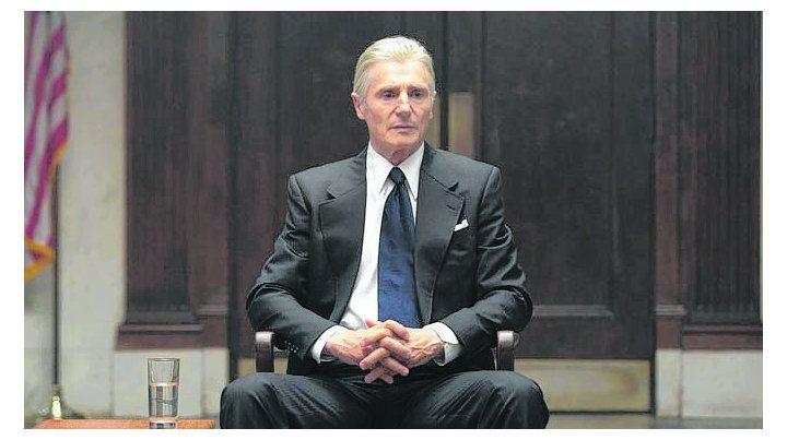 Mark Felt. Liam Neeson interpreta a la fuente del famoso caso Watergate.