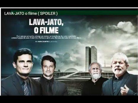 el afiche. En el cartel aparecen los verdaderos Moro y Lula junto a los actores que los encarnan.