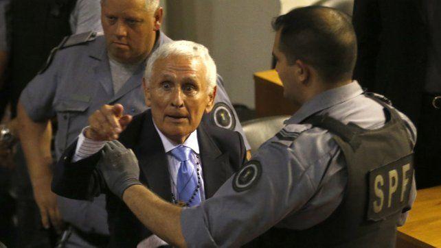 El expolicía fue condenado por delitos de lesa humanidad.