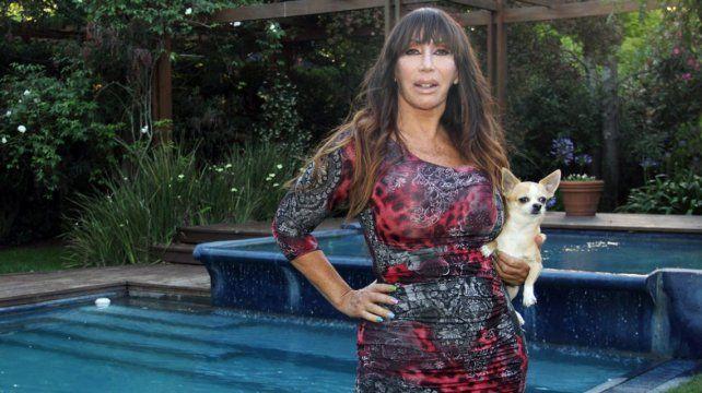 La infinita tristeza de Moria Casán al comunicar la muerte de su perro Kristobal