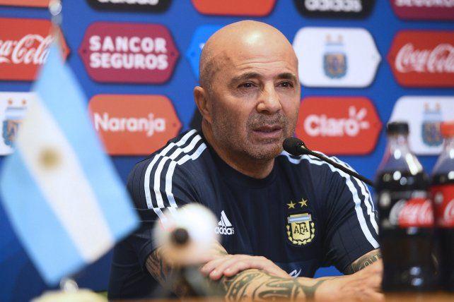 El DT de la selección argentina pidió por la