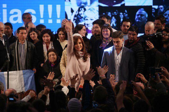 La exmandataria se quedó con la contienda electoral en las Paso.