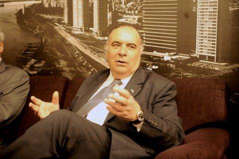entusiasta. El embajador de Uruguay en Argentina
