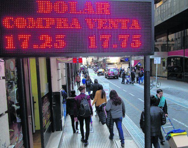 rojo. El rumor de que se gravaría la renta financiera influyó en la suba.