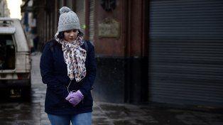 Fría mañana en Rosario. La temperatura mínima se estima en 15 grados, sumada a vientos del sur.