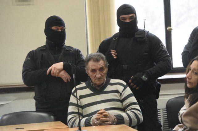 Miguel Angel Pastorutti al momento de escuchar la sentencia.