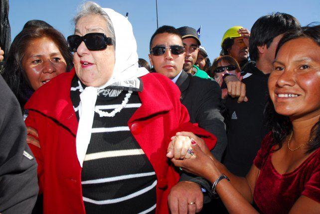Hebe de Bonafini volvió a criticar al gobierno de Mauricio Macri.