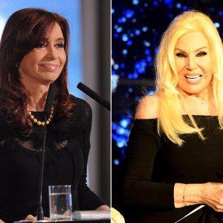 Susana Giménez desmintió los rumores que marcaban que estaba buscando llevar a su programa a la expresidenta.