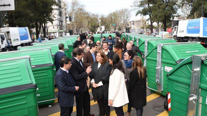 La presentación encabezada por Mónica Fein se realizó en Oroño y 27 de febrero.