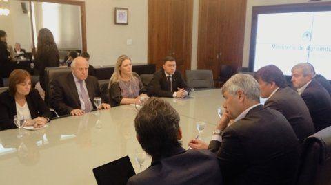 agenda común. El gobernador y el ministro de Agroindustria de la Nación buscan alternativas a la crisis.