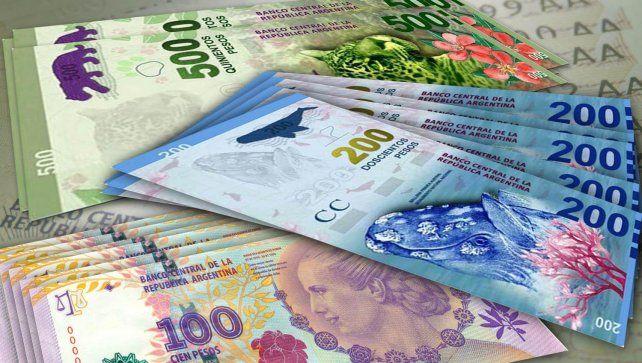 Hay unas 770 estafas con billetes falsos por semana en el país