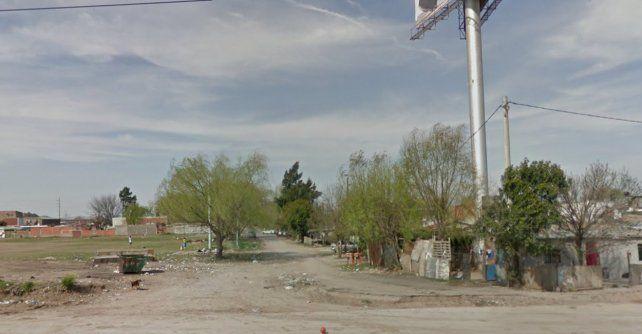 Imagen del barrio donde se produjo el hecho.