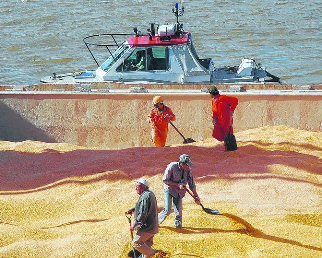 mercado. Los precios de la soja sigueron firmes pese al conflicto por biodiésel.