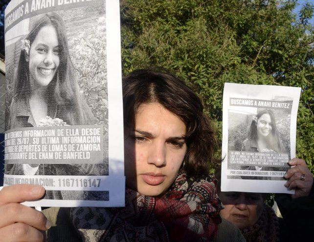 Anahí Benítez tenía 16 años.