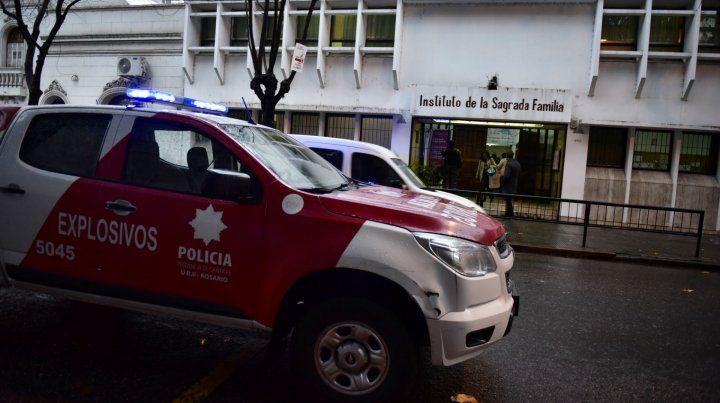Cada advertencia que llega a la central policial 911 moviliza vehículos