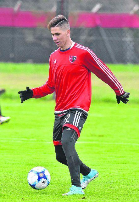 Danilo Ortiz jugó los amistosos desde que llegó a Rosario pero no lo pudo hacer en forma oficial.