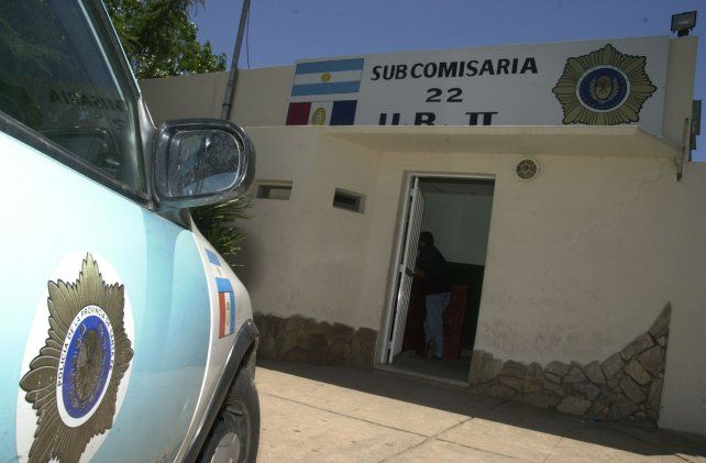 El agresor quedó detenido unas horas en la subcomisaría 22.