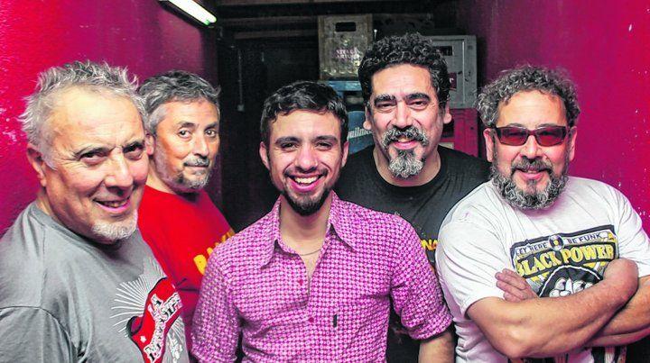 Bluseros de acá. El grupo surgido en el partido bonaerense de Florencio Varela regresó con un disco nuevo.