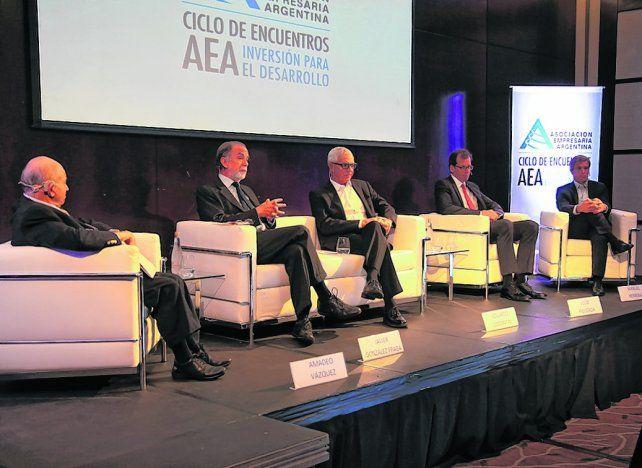 Voto positivo. Los empresarios ratificaron en AEA que confían en el rumbo económico pero pidieron acelerar los cambios.