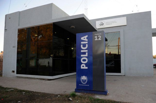 Comisaría 12ª. El detenido fue derivado a esta dependencia policial.