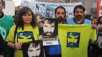 Clamor. Hubo marchas en todo el país para pedir la aparición con vida de Santiago Maldonado. Fue visto por última vez el 1º de agosto.