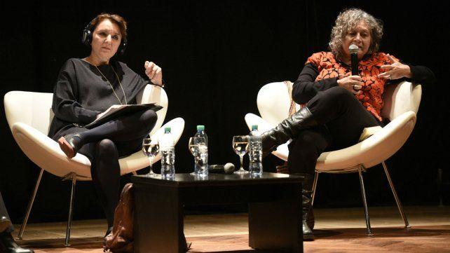 Charla e intercambios. Eva Illouz junto a la antropóloga Rita Segato