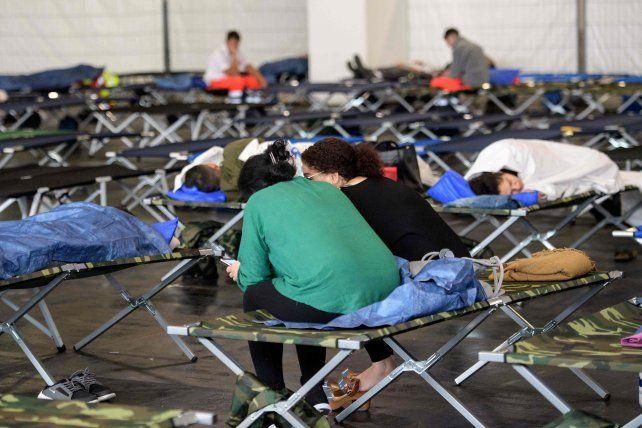 Más de 60.000 residentes debieron ser evacuados.