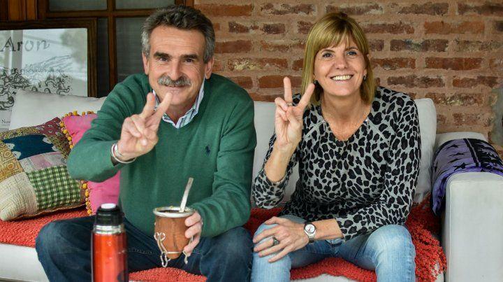 Rossi y Rodenas se mostran juntos de cara a las elecciones de octubre.