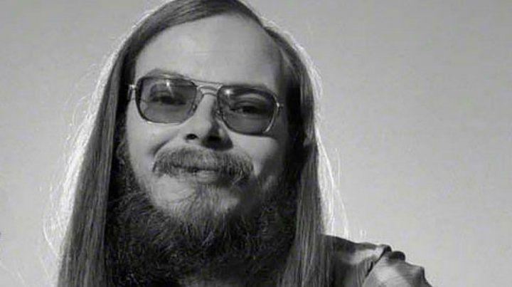 En los 70. Becker y su look.