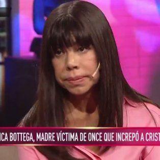 santiago y mi hija estan unidos por la corrupcion, dijo la mama que increpo a cristina