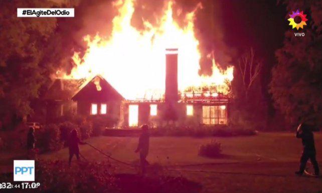 La historia del matrimonio que murió cuando incendiaron su casa por la guerra de tierras en el sur