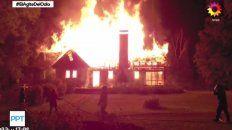 la historia del matrimonio que murio cuando incendiaron su casa por la guerra de tierras en el sur