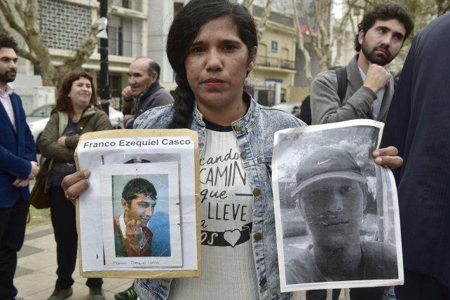 Prestaron declaración dos de los detenidos por la muerte de Franco Casco